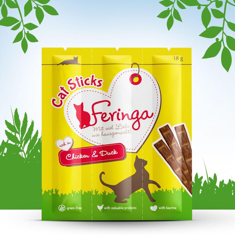 Image of Prezzo speciale! 36 x 6 g Feringa Sticks - Pollo & Anatra