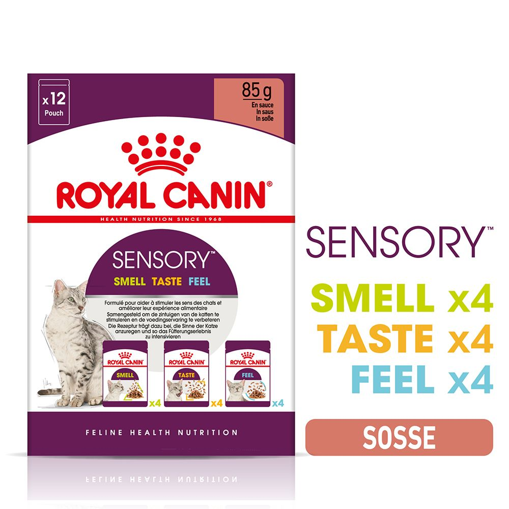 Provpack: Royal Canin Sensory in Sauce - 96 x 85 g