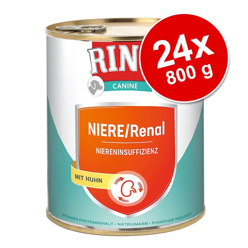 Ekonomipack: RINTI Canine 24 x 800 g Renal Kidney Diet Beef