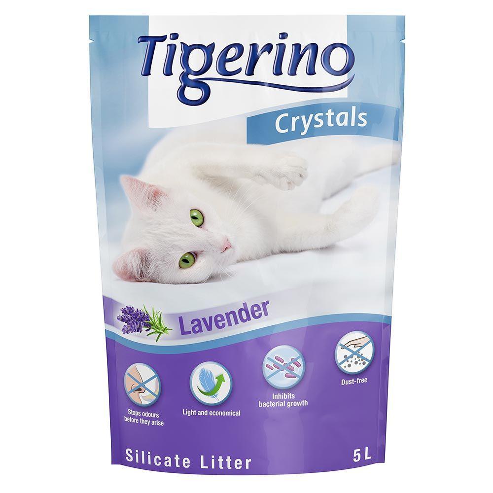 5L Crystals Lavande Tigerino - Litière pour Chat