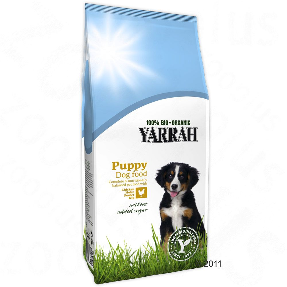 Yarrah Organic Puppy Chicken & Grains - 3kg