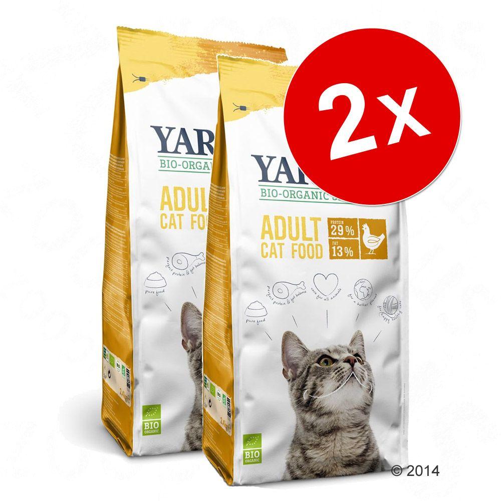 Lot Yarrah bio pour chat - poisson (2 x 10 kg)