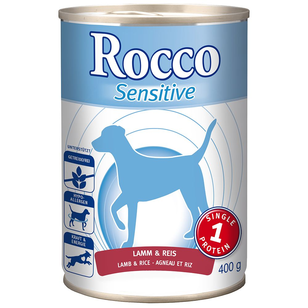 Rocco Sensitive 6 x 400g - Turkey & Potatoes