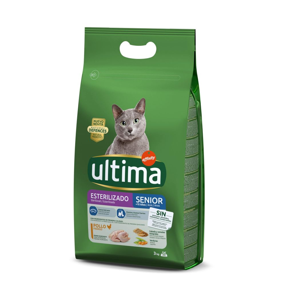 Ultima Cat Sterilized Senior - Ekonomipack: 2 x 3 kg