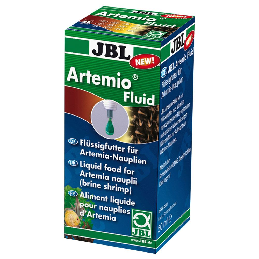 Image of JBL ArtemioFluid mangime liquido nauplii di artemia - 50 ml