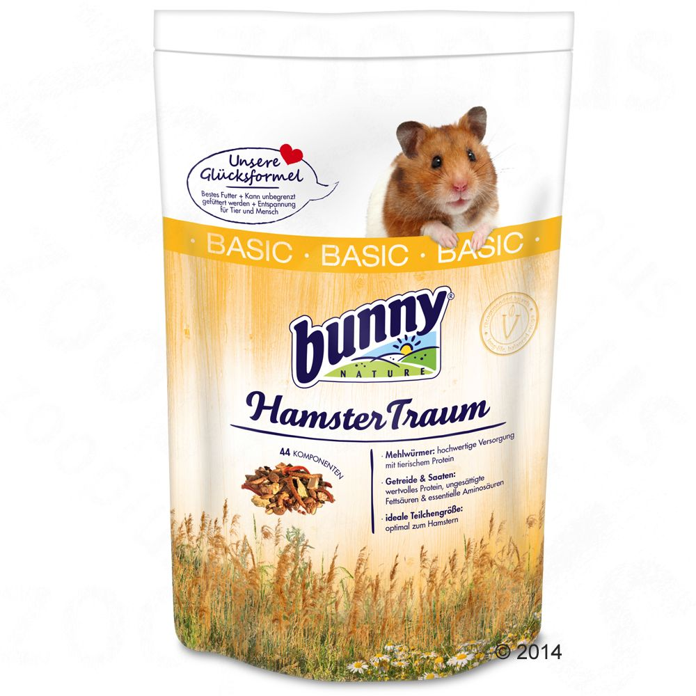 Bunny HamsterTraum BASIC - 600 g