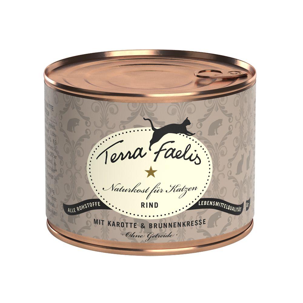 Terra Faelis köttmenyer 1 x 200 g - Kyckling, squash & kattmynta