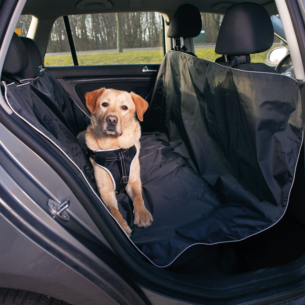 Trixie Protective Car Mat - Saver Bundle: Seat Cover + Large gap-fill