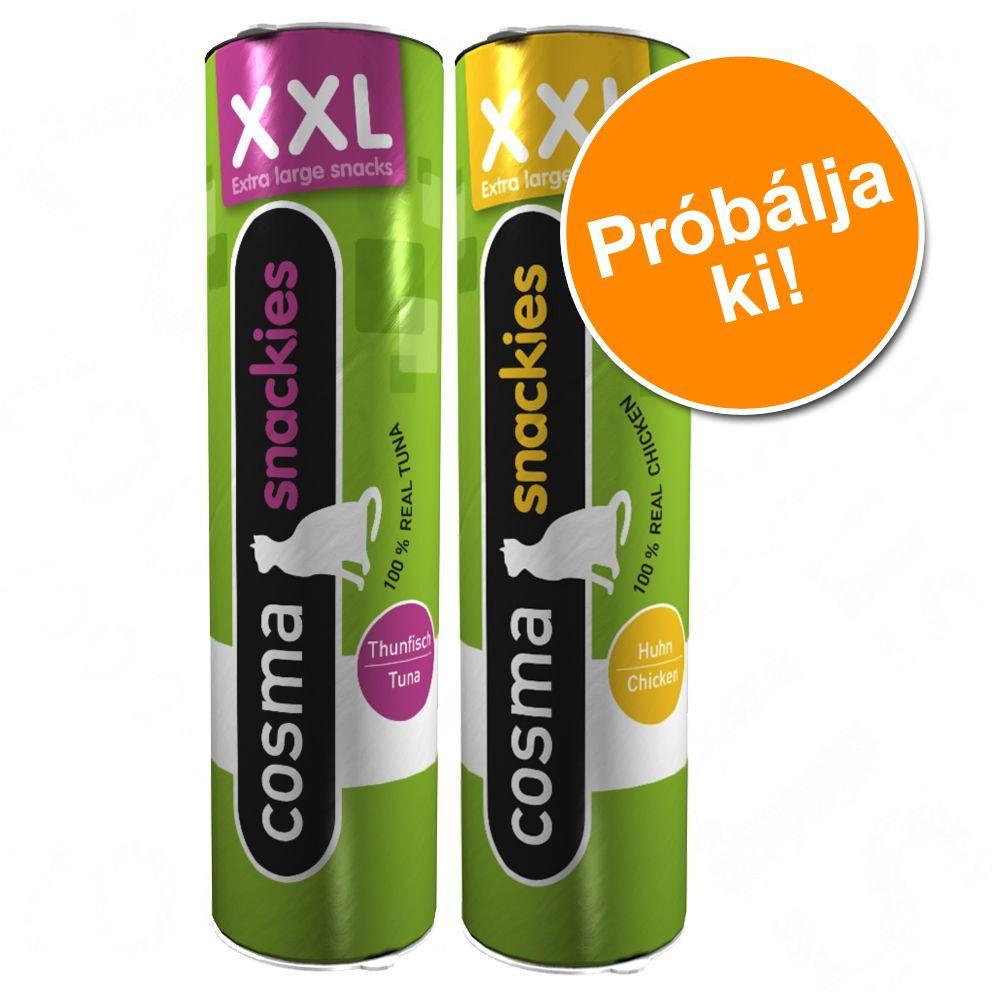 cosma-snackies-xxl-vegyes-probacsomag-55-g-2-kueloenboezo-valtozatban