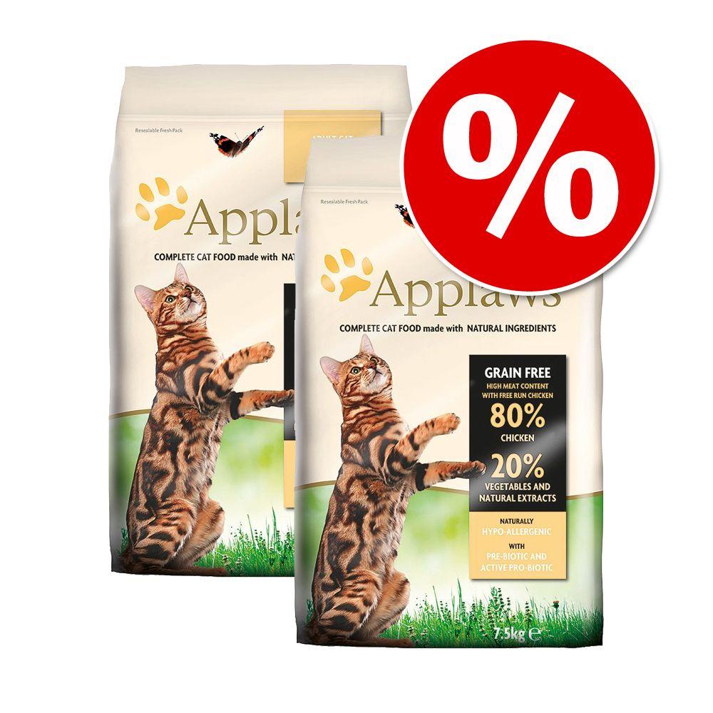 Ekonomipack: Applaws torrfoder 2 x 6/7,5 kg - Adult Chicken (2 x 7,5 kg)