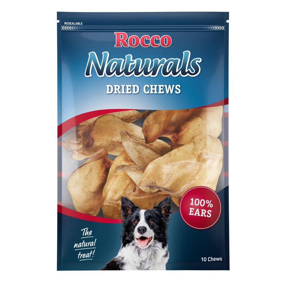 Dried Cows' Ear Rocco Natural Dog Chews