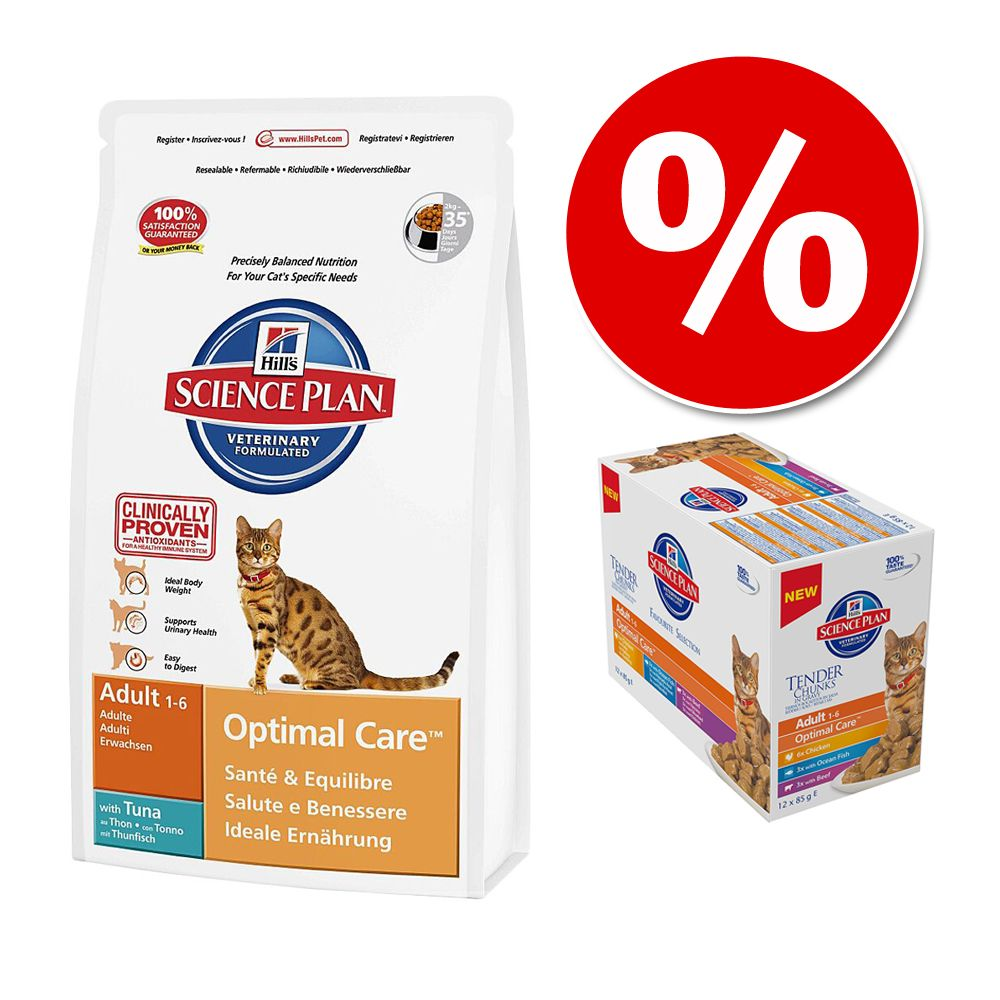 Foto Set misto per gatti Hill's Science Plan - Mature 7+ Pollo Set risparmio
