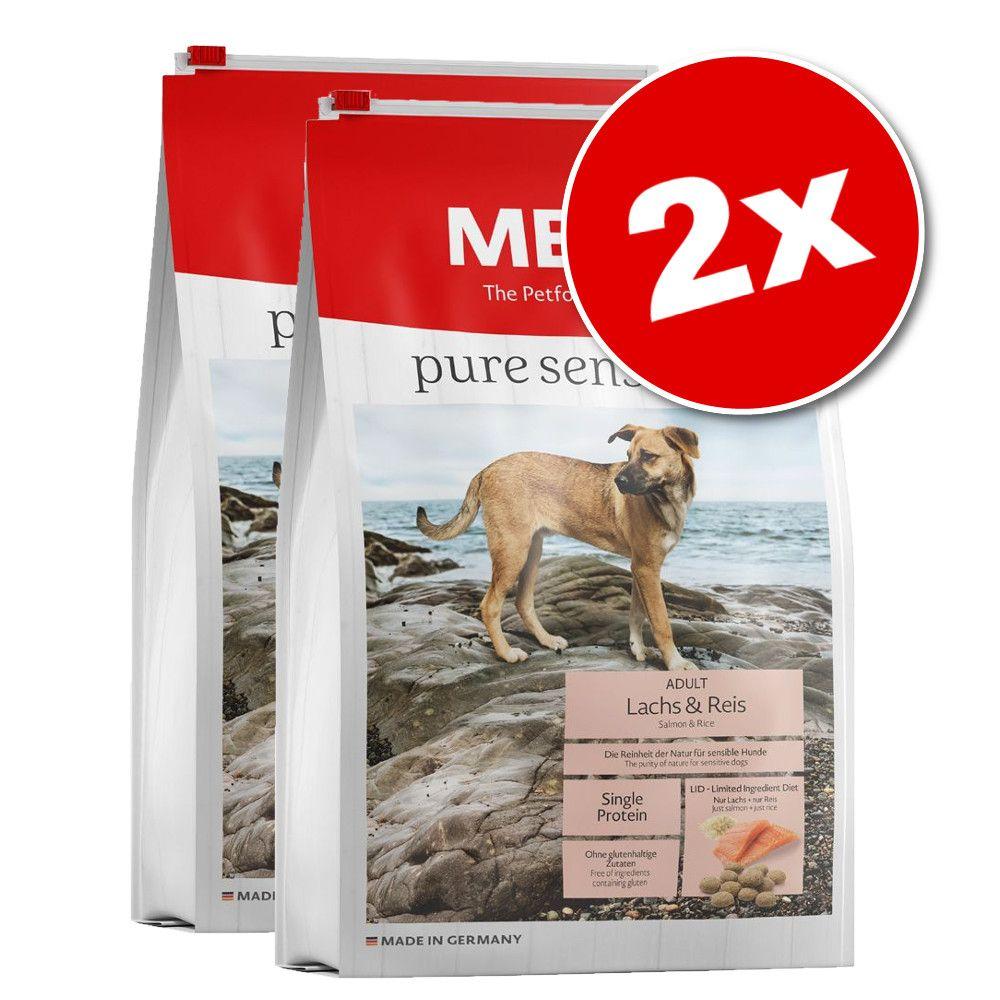 2x12,5kg MERA pure sensitive saumon, riz - Croquettes pour chien
