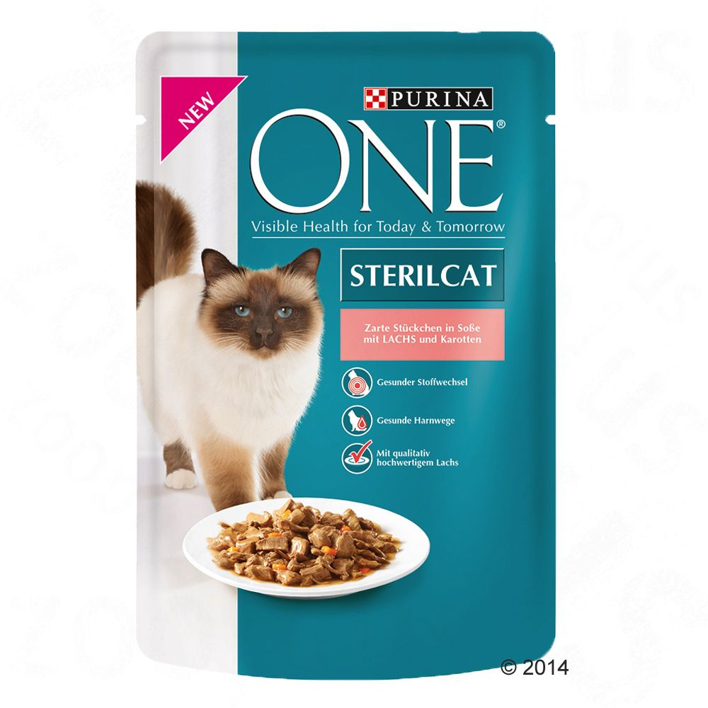 Purina ONE Sterilised, 6