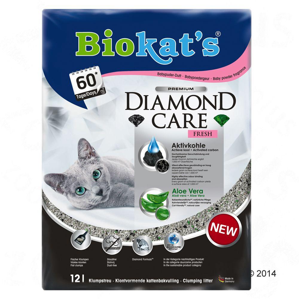 Biokat´s DIAMOND CARE Fresh Katzenstreu - 12 l