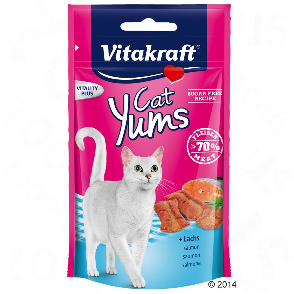 Vitakraft Cat Yums pour chat - fromage (3 x 40 g)