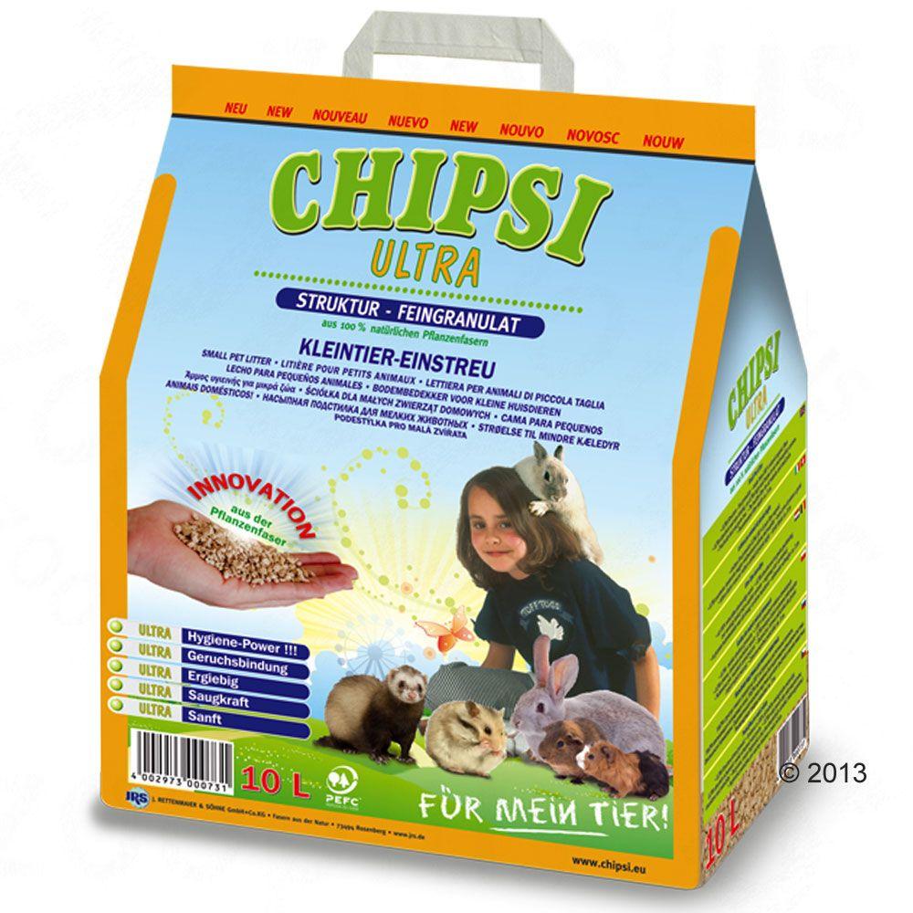 Image of Lettiera per roditori Chipsi Ultra - 2 x 10 l - prezzo top!
