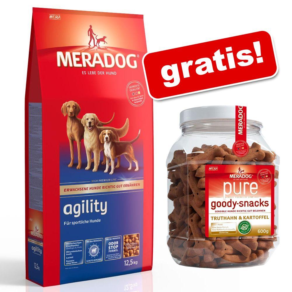 12,5 kg Meradog torrfoder + 600 g Meradog Goody på köpet! – Pure Junior Kalkon & ris