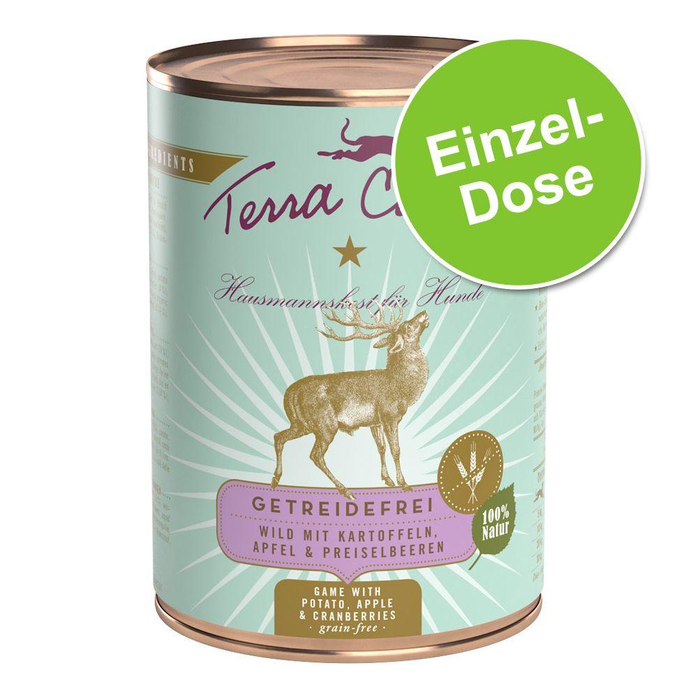 1 x 400 g Terra Canis Getreidefrei, Wild mit Kartoffeln, Apfel & Preiselbeeren