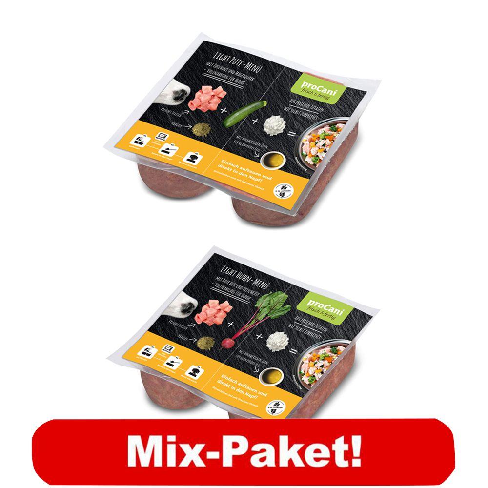 proCani BARF Light Menü Paket - 40 x 2 x 200 g