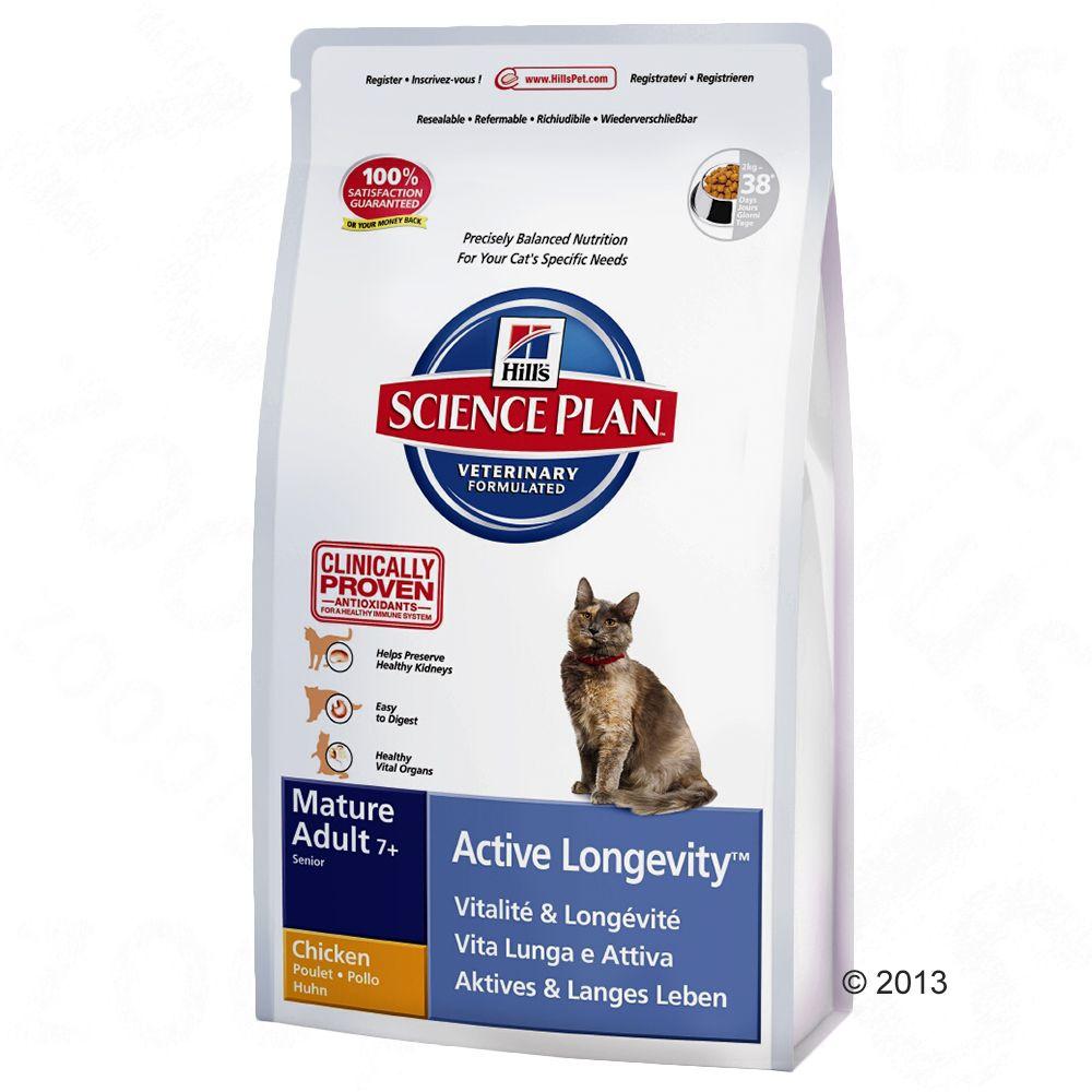 Hill's Feline Mature Adult 7+ Active Longevity, kurczak - 10 kg