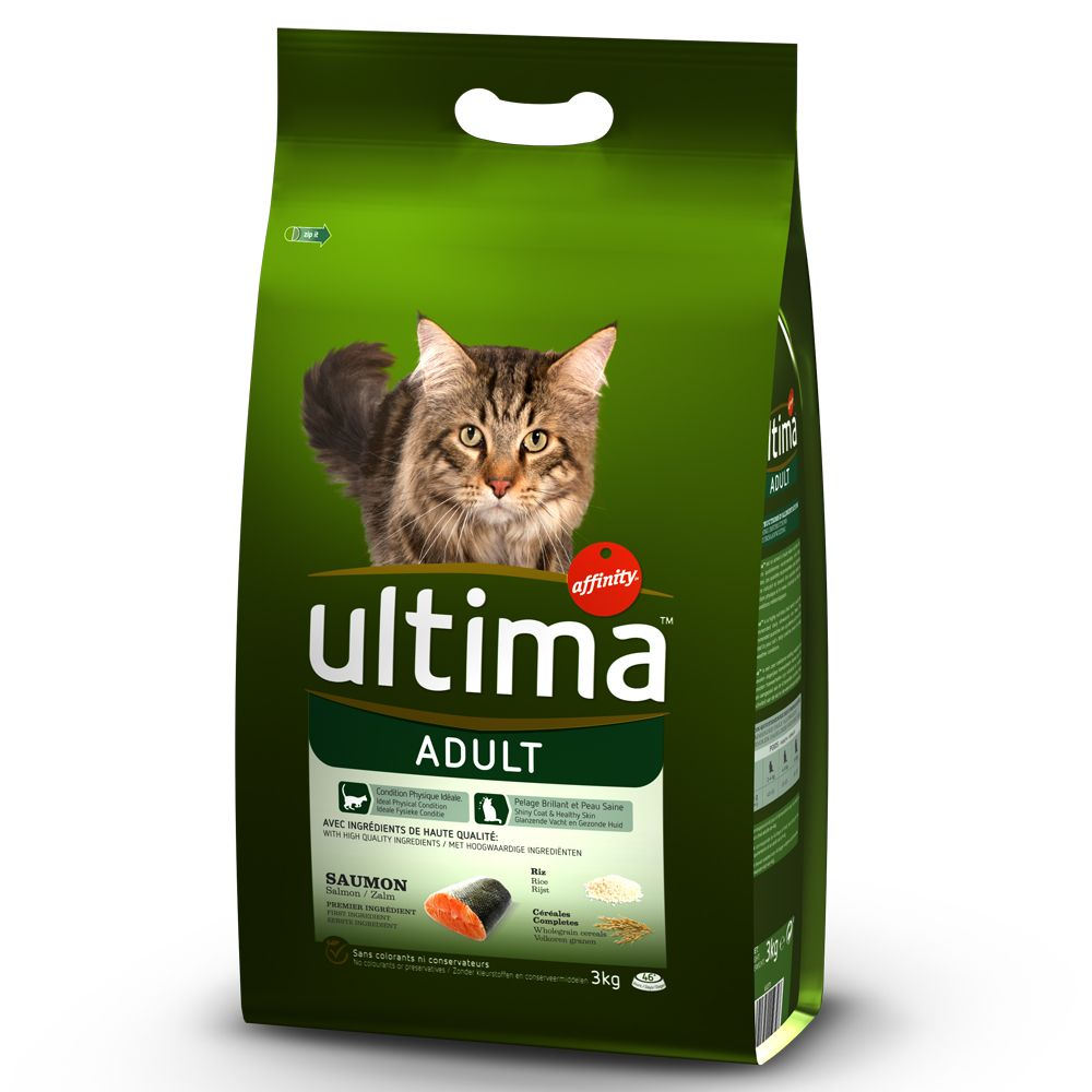 Image of Ultima Cat Adult Lachs - Sparpaket 2 x 7,5 kg