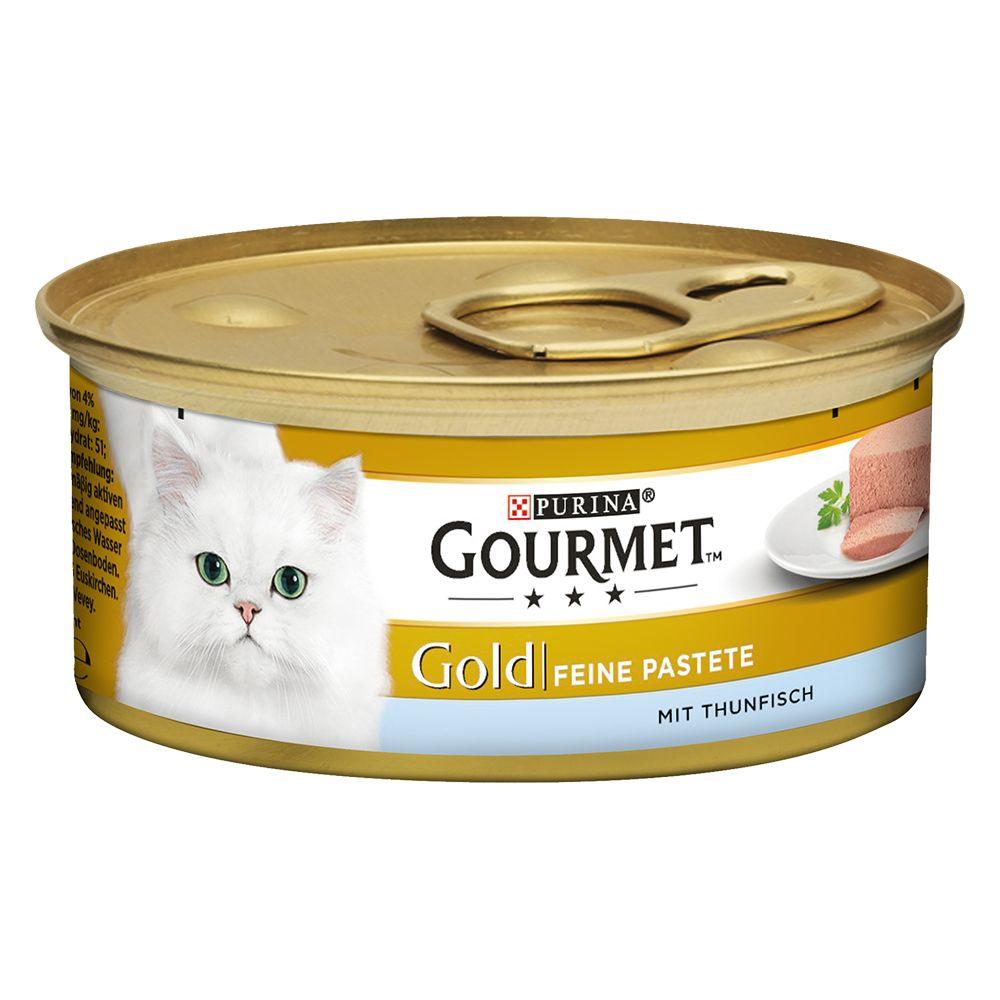 Gourmet Gold Feine Pastete 12 x 85 g - Lamm & g...