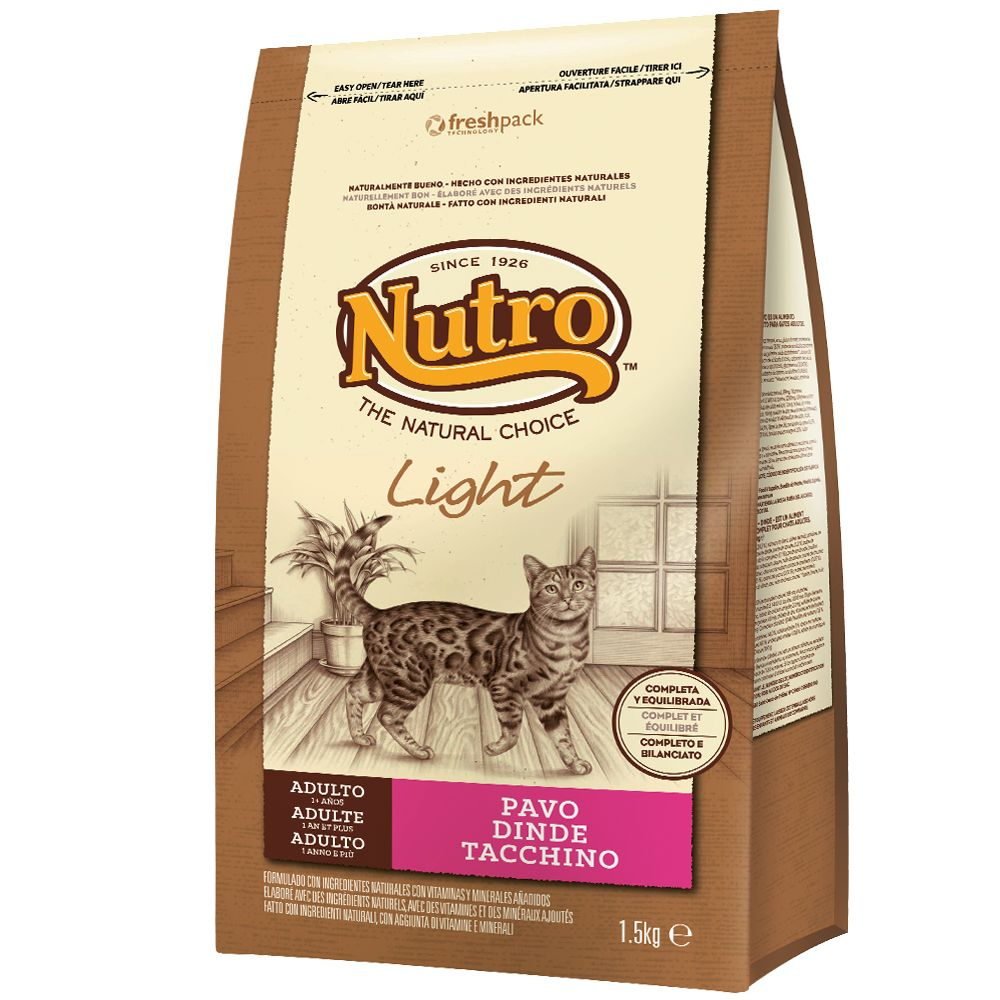 Foto Nutro Natural Choice Adult Tacchino Light - 3 x 1,5 kg - prezzo top! Nutro Adult