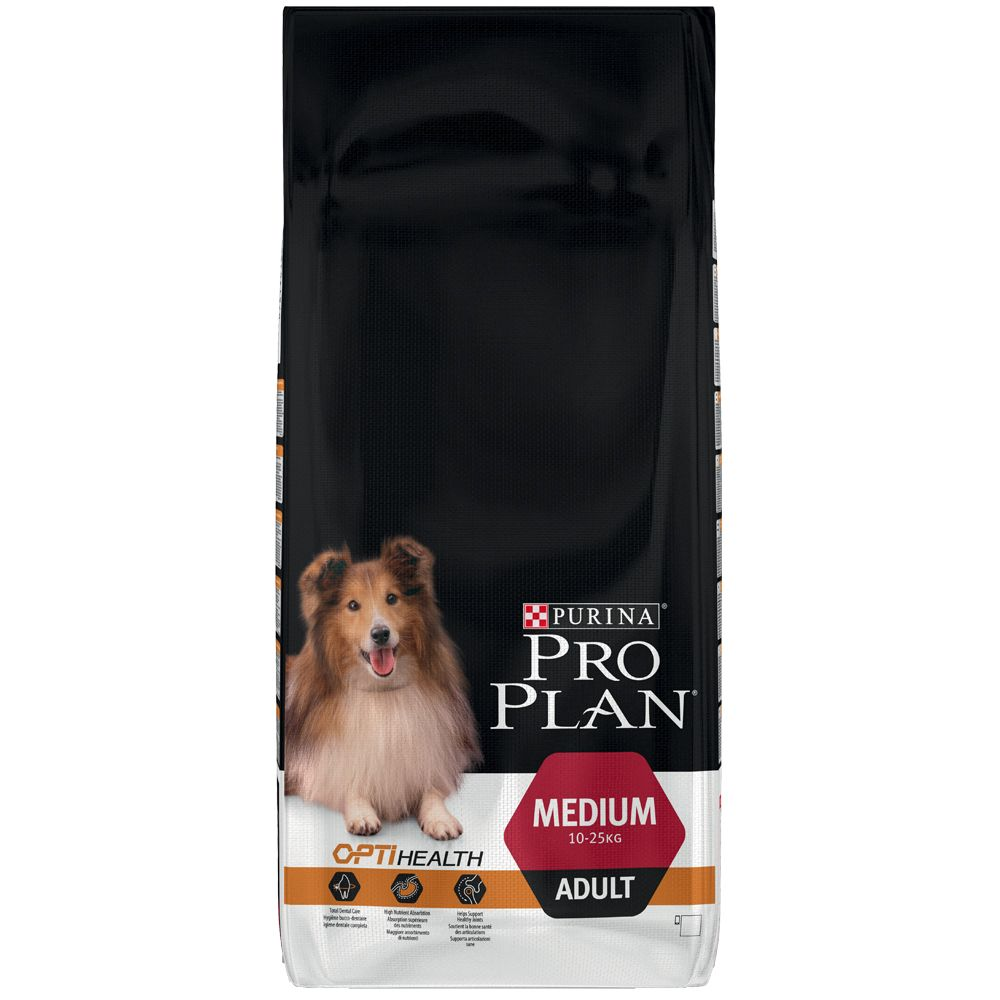 Purina Pro Plan Dry Dog Food Economy Packs - Adult Performance OptiPower - Chicken (2 x 14kg)