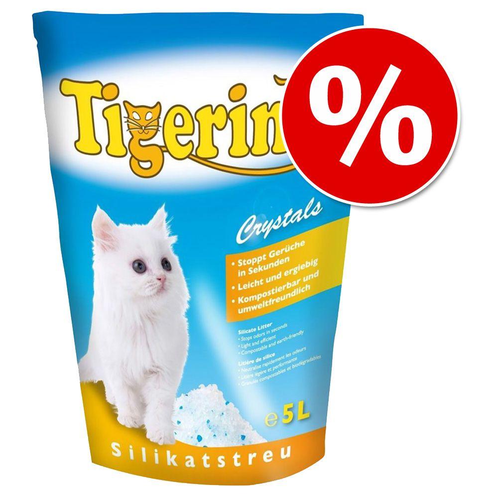 30 l Tigerino Crystals silikonowy żwirek dla kota w super cenie! - Flower-Power