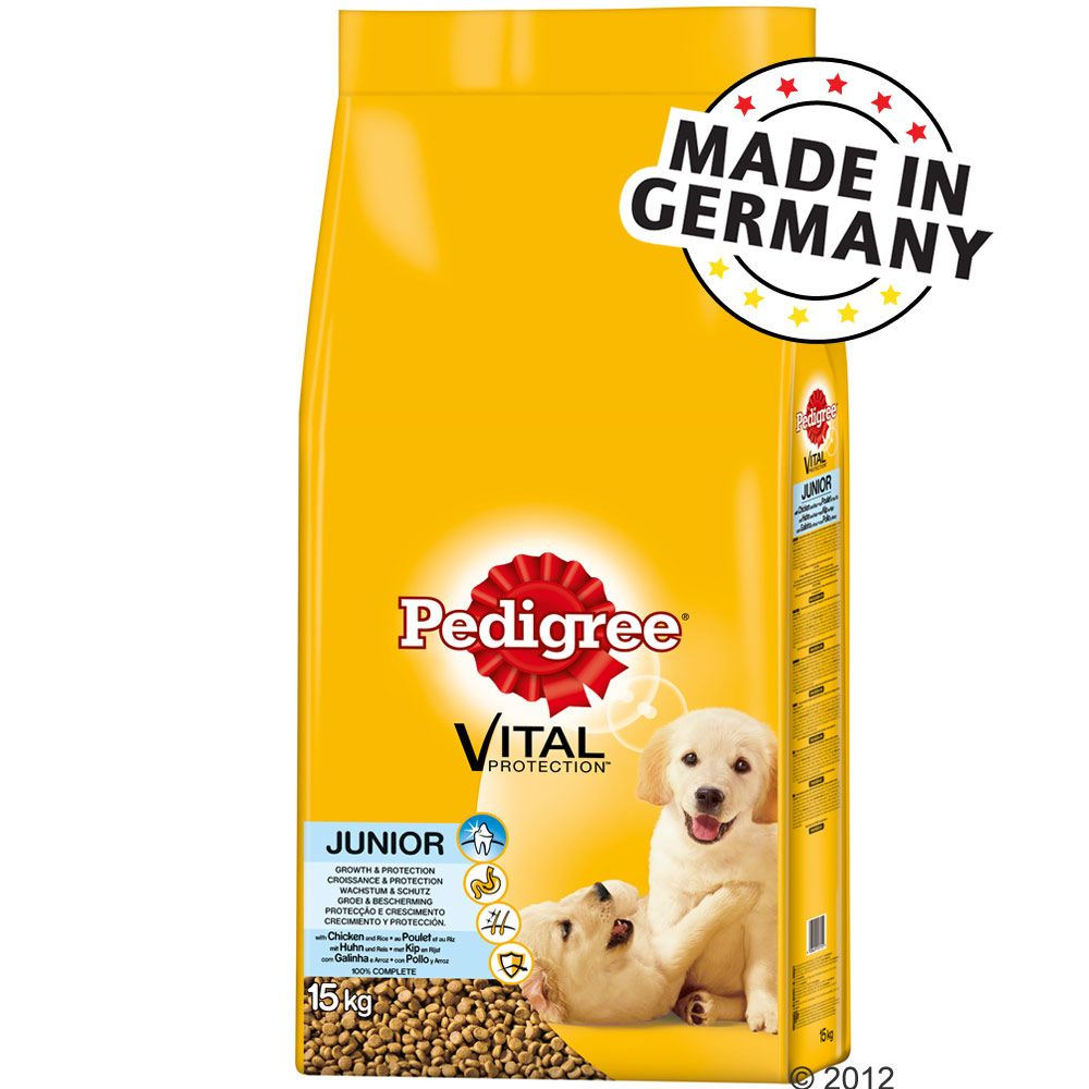 Pedigree Junior, z kurcza
