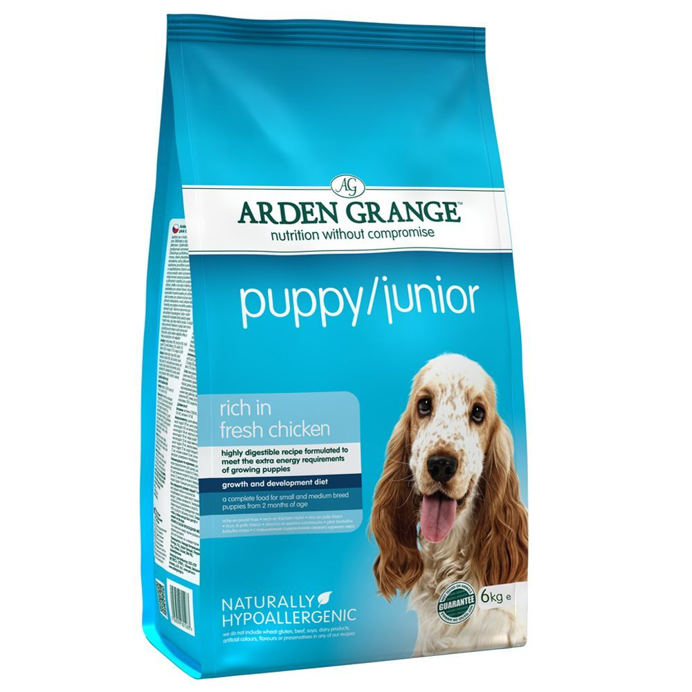 Arden Grange Puppy/Junior Chicken Dry Dog Food