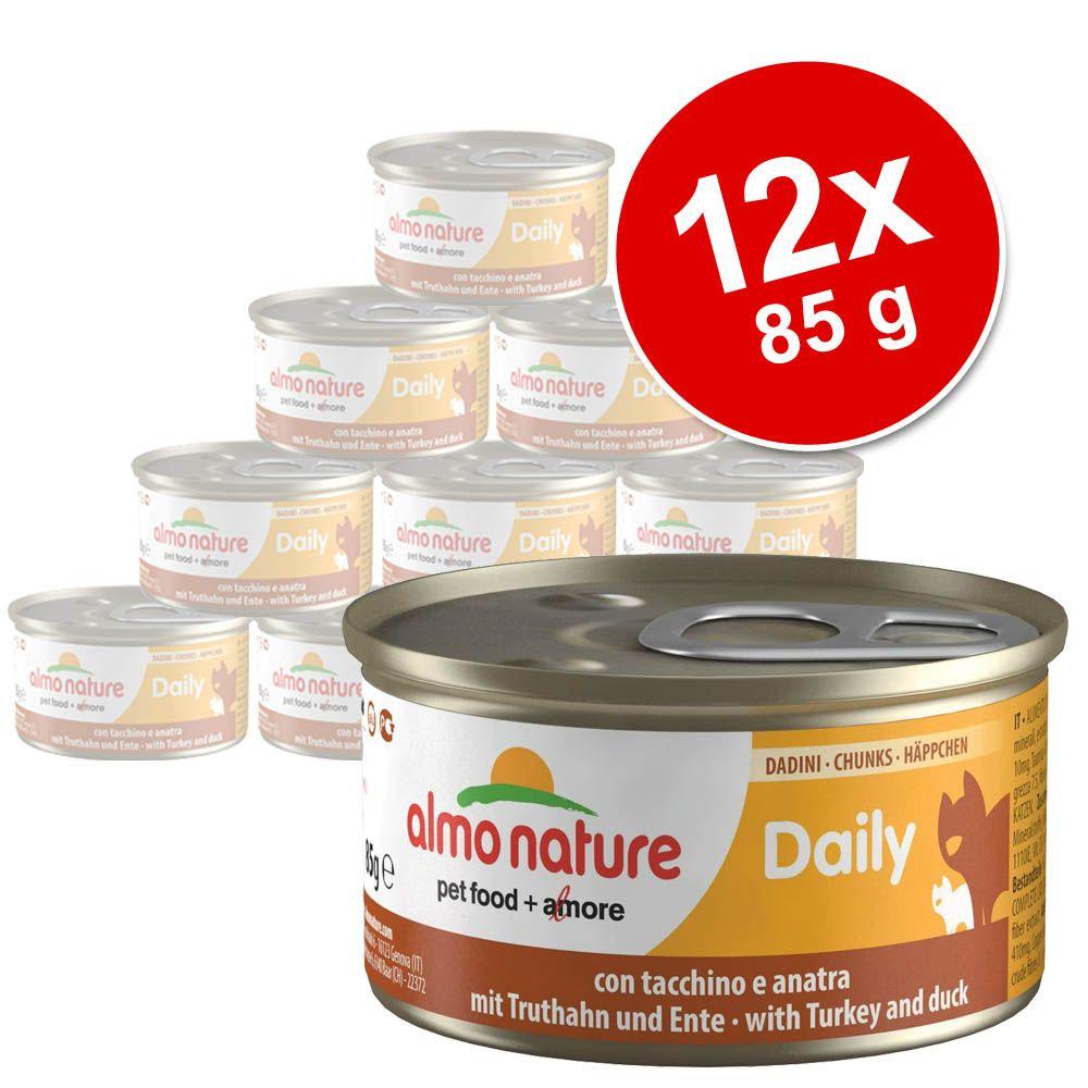 Korzystny pakiet Almo Nature Daily Menu, 12 x 85 g - Mus z kurczakiem