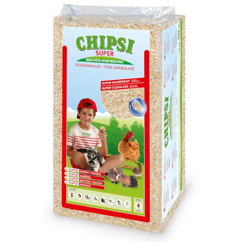 Chipsi Super hestestrøelse - 24 kg