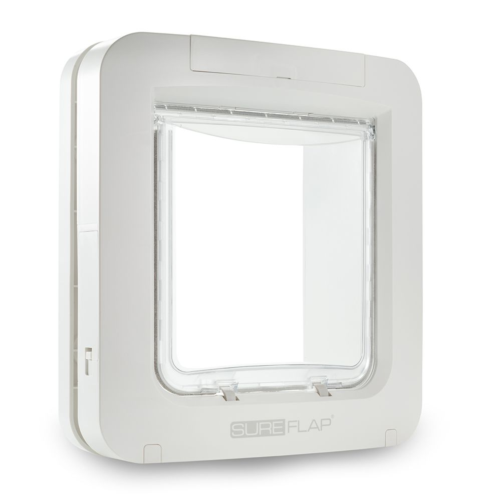SureFlap White Microchip Pet Door