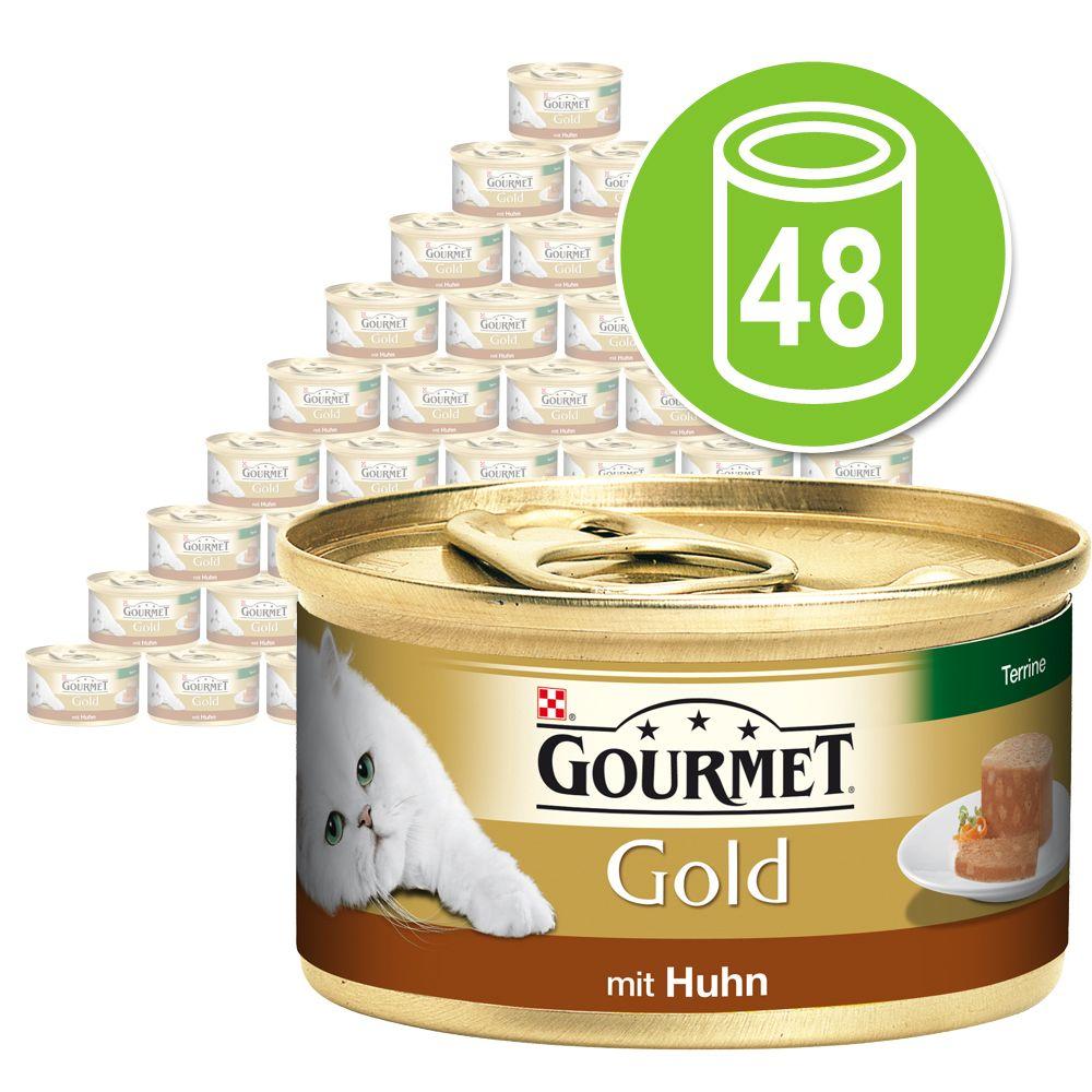 Chat Boîtes et sachets Gourmet Gold Gourmet Gold Les Terrines