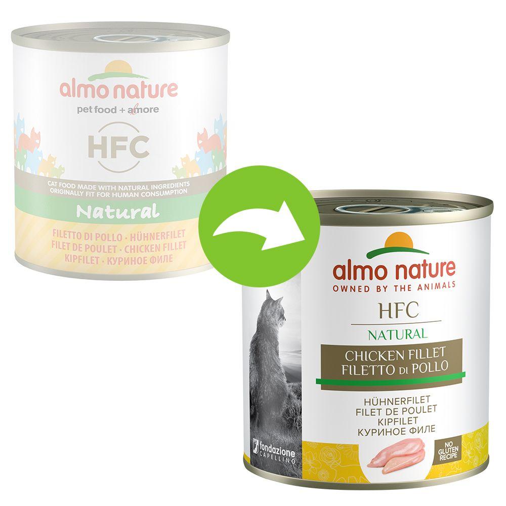 Almo Nature HFC 6 x 280 g - Tonfisk & räkor