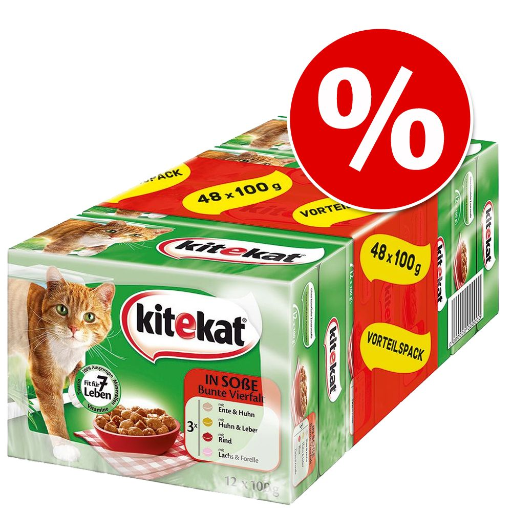 Chat Boîtes et sachets Kitekat Sachets fraîcheur pour chat Kitekat