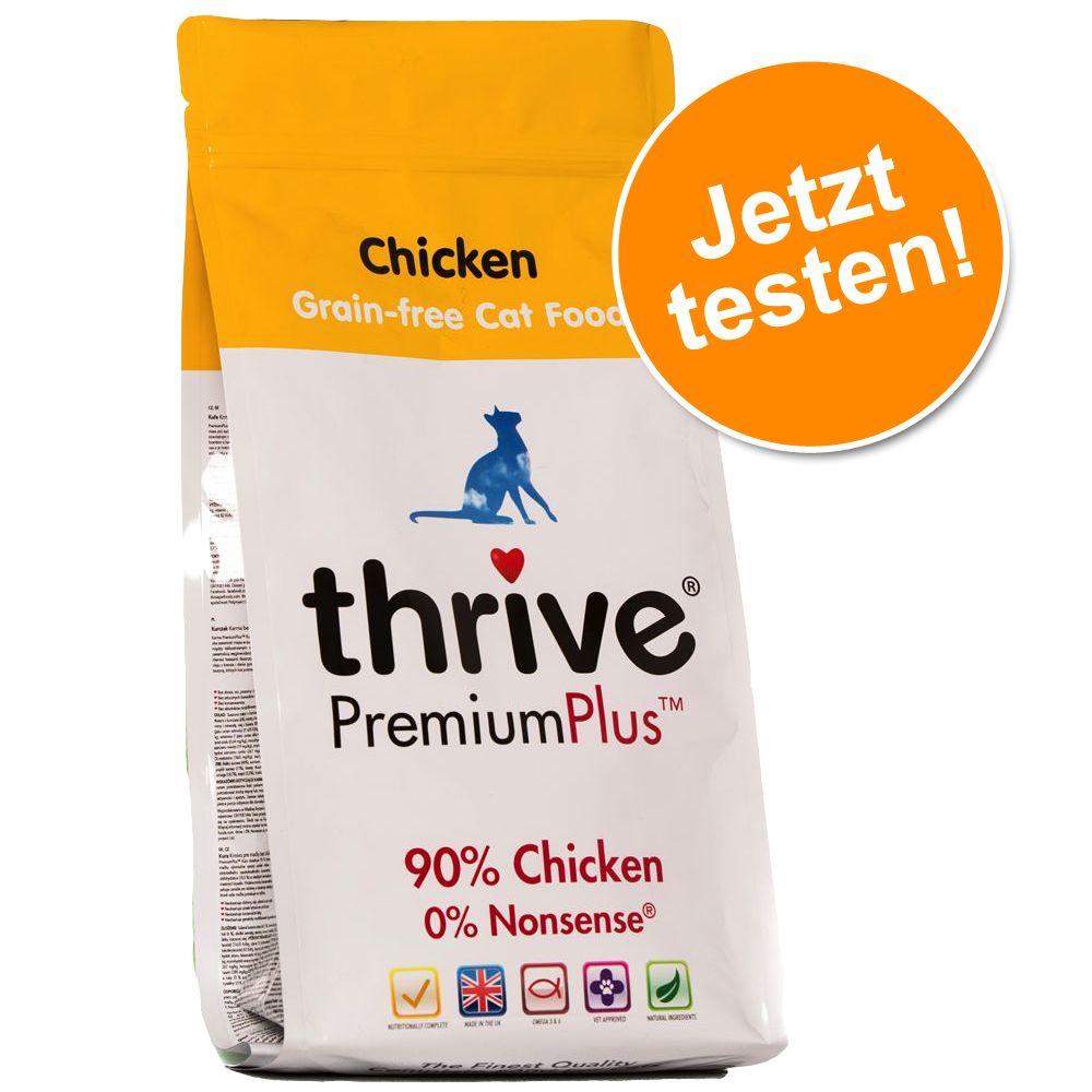 Probierpaket: 1,5 kg Thrive PremiumPlus Trockenfutter - Huhn