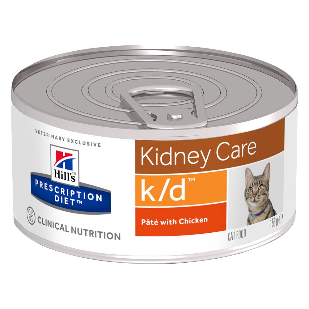 Kidney Care Cans Feline Hill's Prescription Diet Wet Cat Food