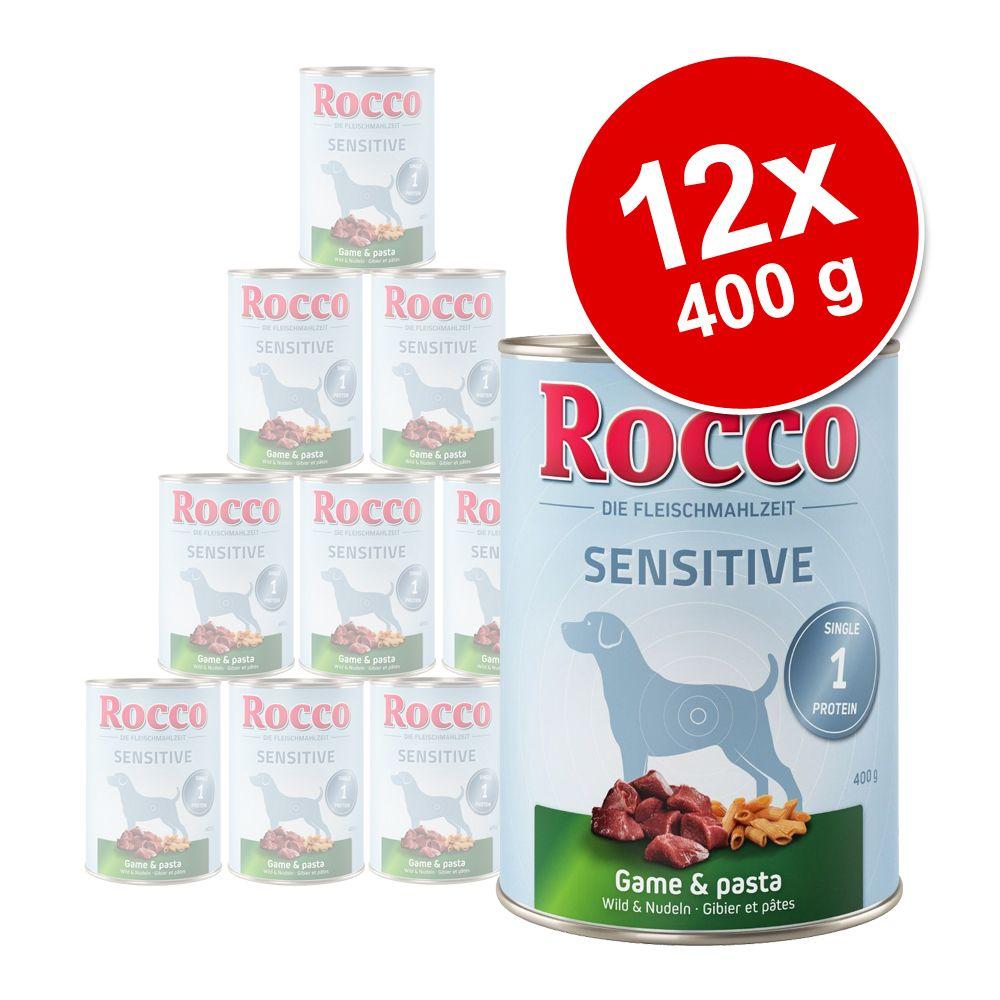 Sparpaket Rocco Sensitive 12 x 400 g - Lamm & Reis