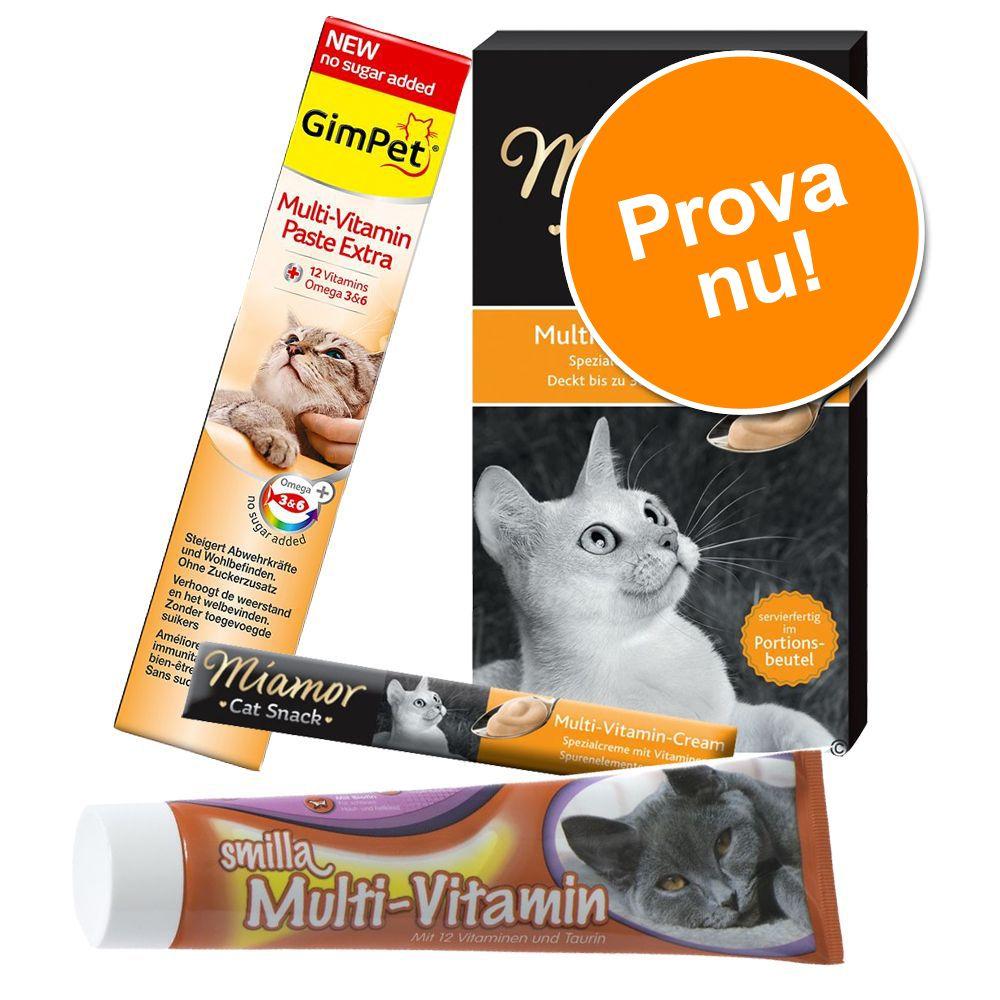 Blandpack: Crème och pastej med vitaminer! - Blandpack med vitaminer