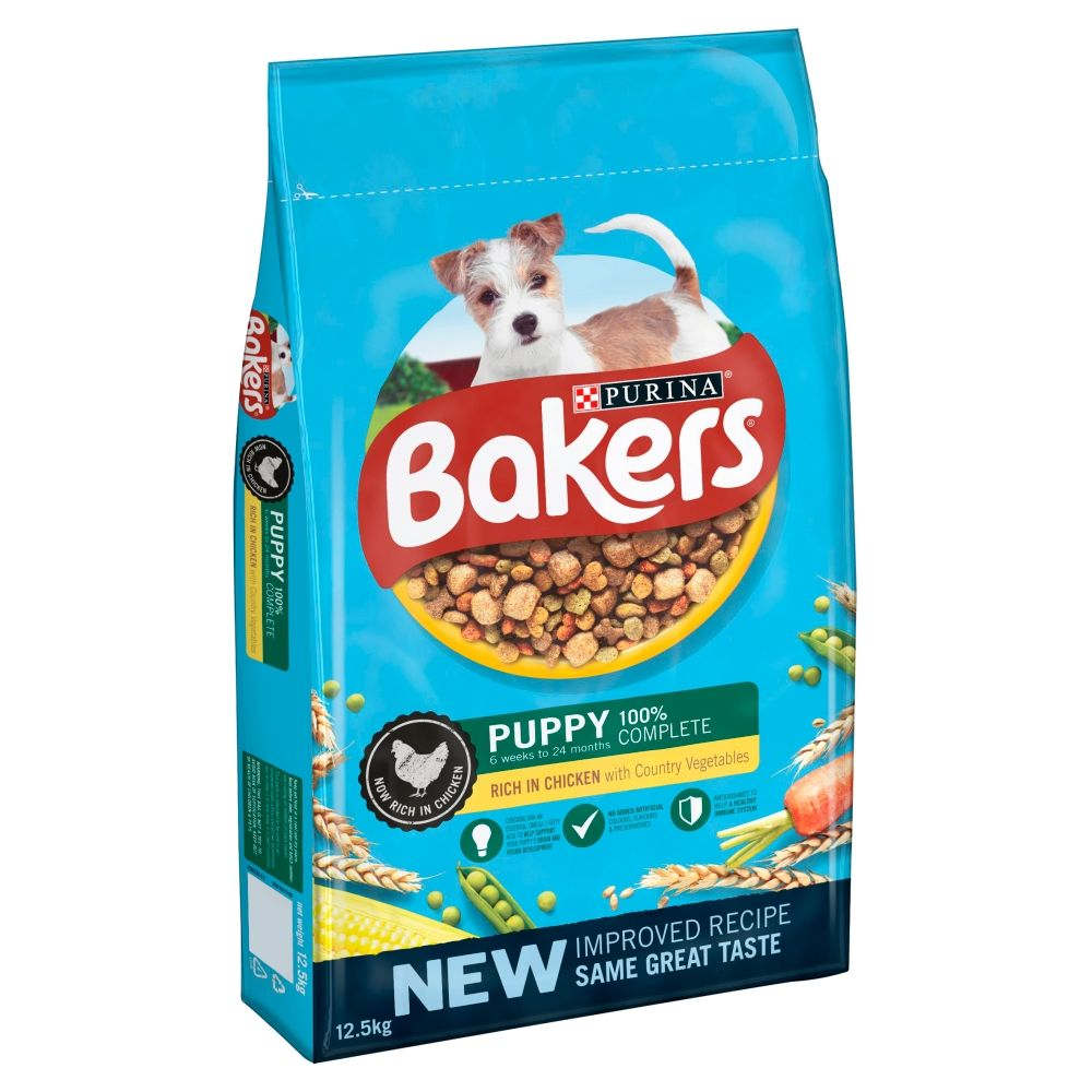 Bakers Complete Puppy Chicken Dry Dog Food