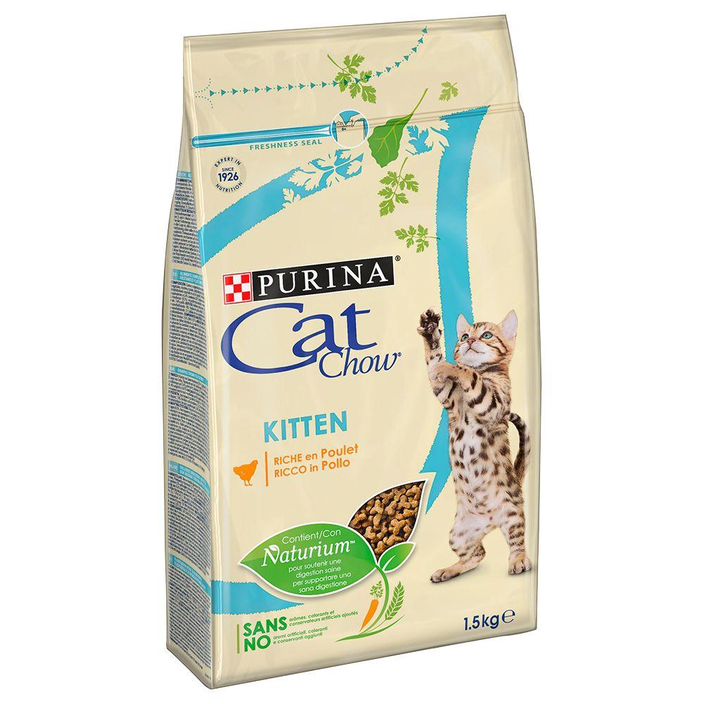 Purina Cat Chow Kitten, kurczak - 4,5 kg