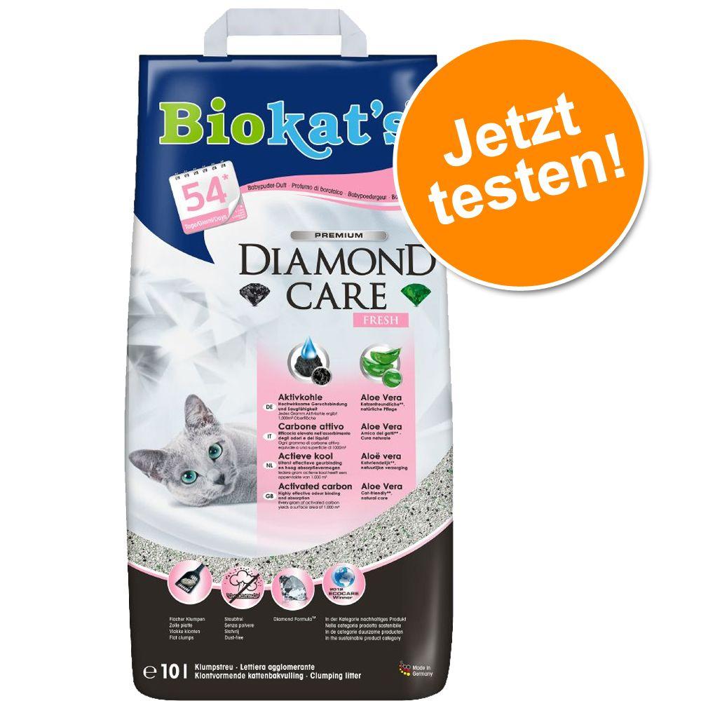 Probiergröße: 10 l Biokat's Katzenstreu - DIAMOND CARE MultiCat Fresh (8 l)