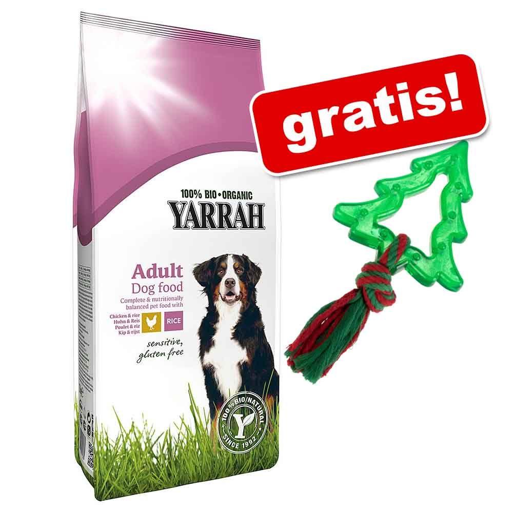 """10 / 15 kg Yarrah Bio + Zabawka dla psa """"Choinka"""" gratis! - Yarrah Bio Vegetarian, 10 kg"""