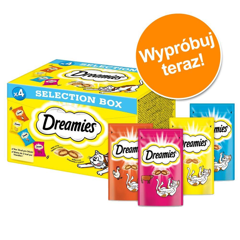 Pakiet próbny: Dreamies Selection Box przysmaki dla kota - 16 x 30 g
