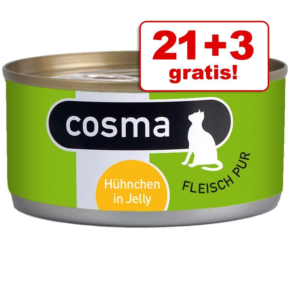 21 + 3 gratis! Cosma Original lub Cosma Thai, 24 x 170 g - Original: Łosoś