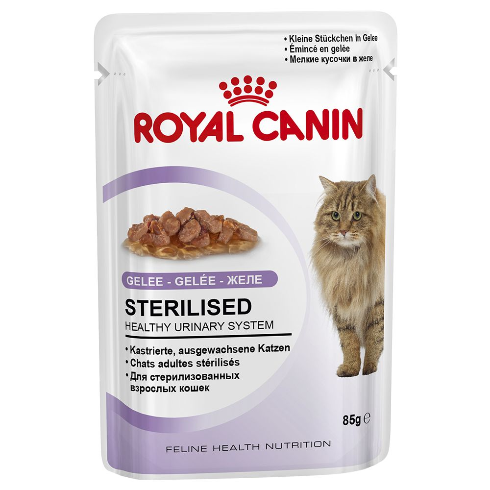 Royal Canin Sterilised in Jelly - Saver Pack: 48 x 85g