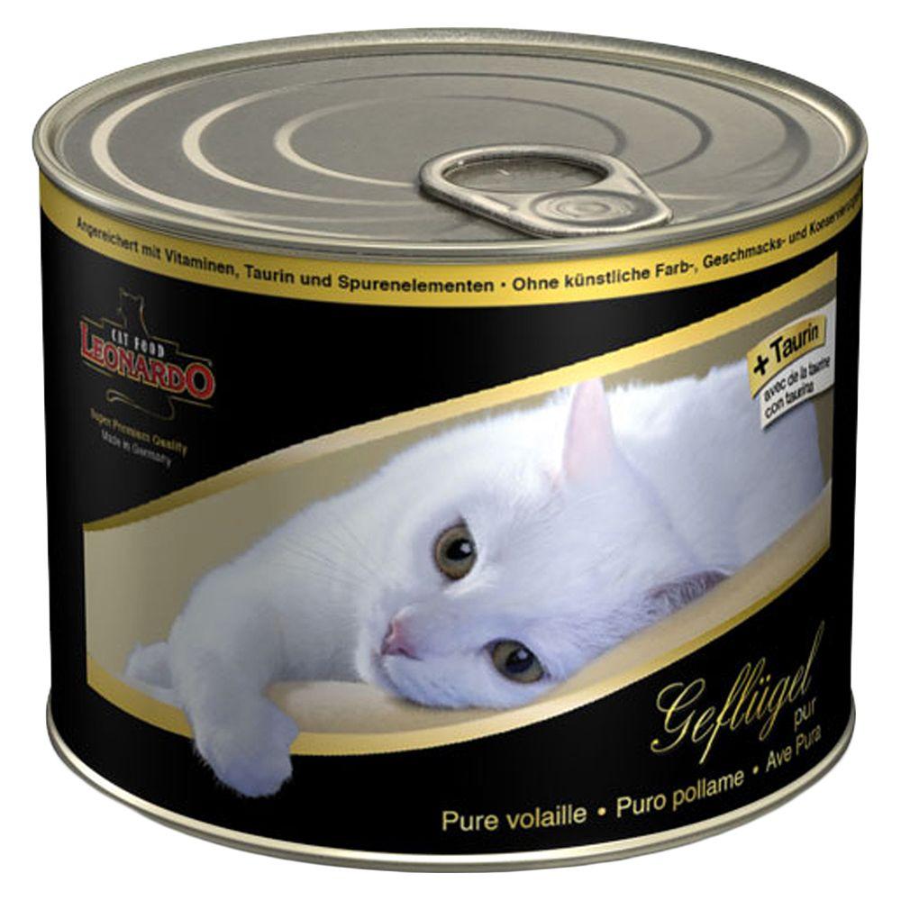 Leonardo All Meat 6 x 200g - Rich in Rabbit